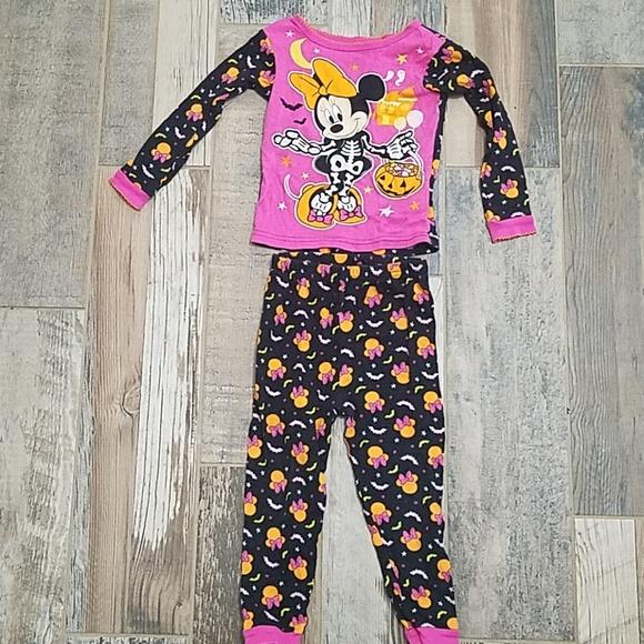 disney minnie mouse halloween pajamas